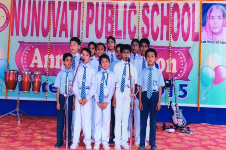 Nunuvati Public School-Singing