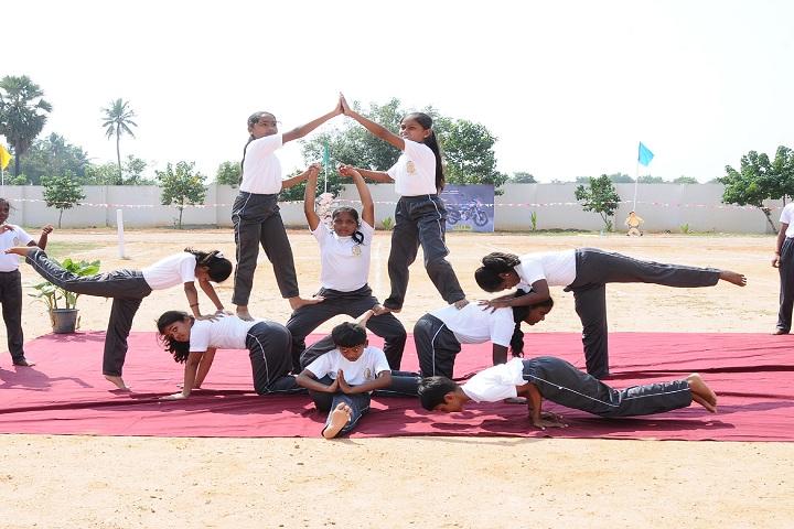 Green Valley Public School-Yoga Day