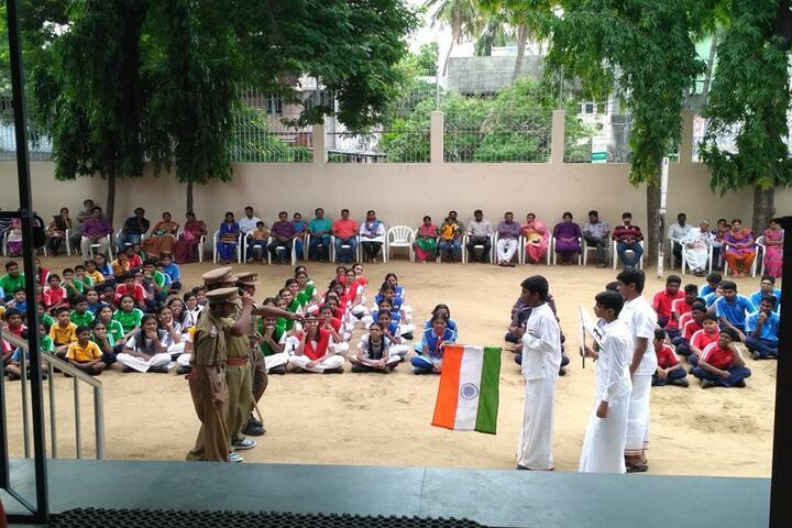 GRT Mahalakshmi Vidyalaya-Republic day Celebration