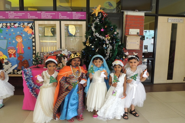 GT Aloha Vidhya Mandir-Christmas Celebrations