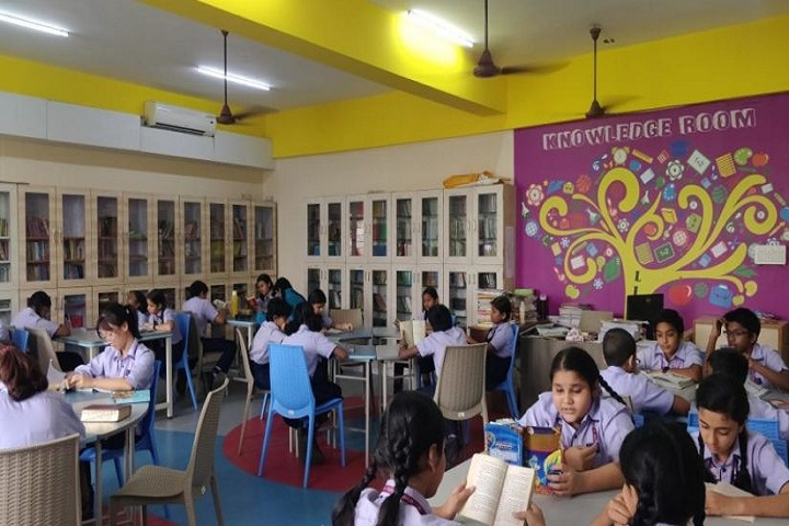 GT Aloha Vidhya Mandir-Library