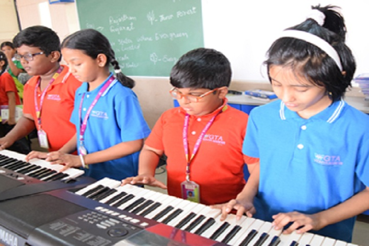 GT Aloha Vidhya Mandir-Music