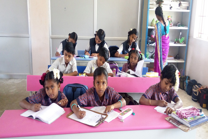 Heritage Vidhyalaya-Classroom
