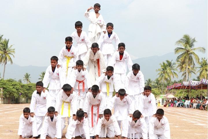 Heritage Vidhyalaya-Yoga Day