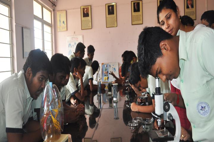 Ideal Mount Litera Zee School-Biology Lab