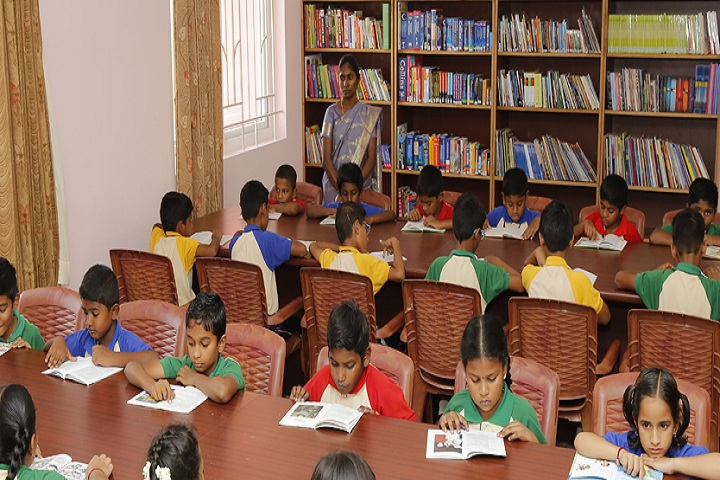 Indu International School-Library