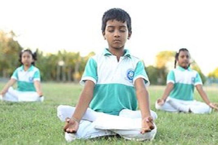 Jeeva Memorial Public School-Yoga