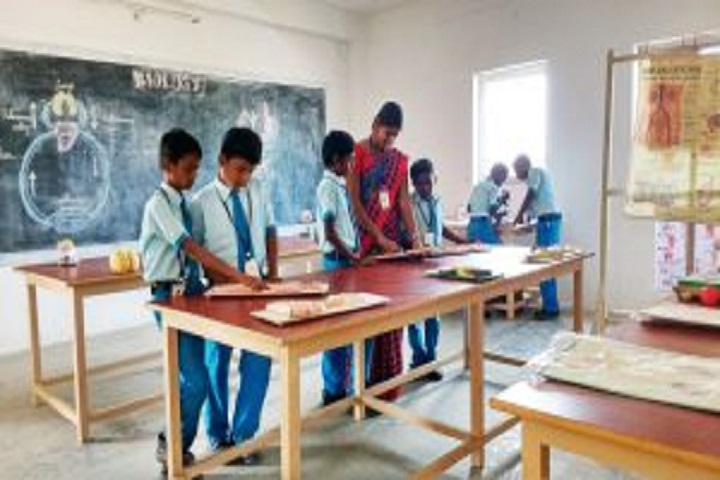 K C Vidyalayam-Biology Lab