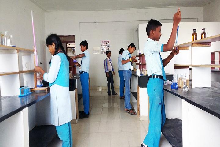 K C Vidyalayam-Chemistry Lab