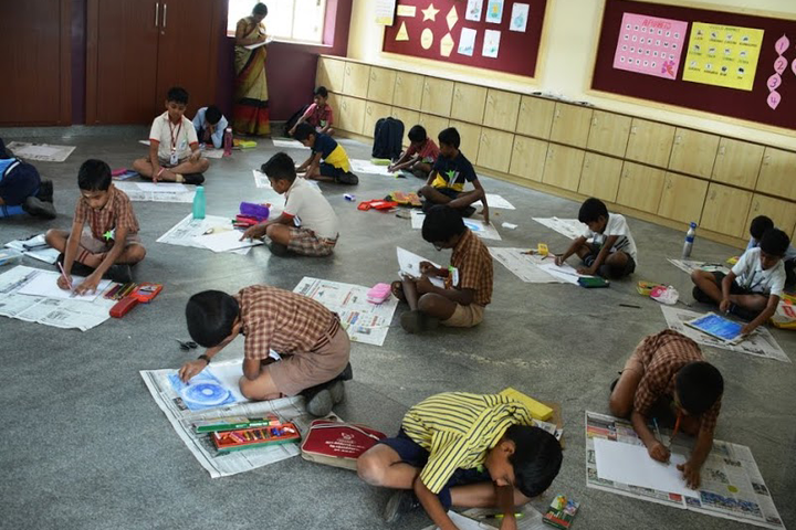 K G International School--Drawing Competition