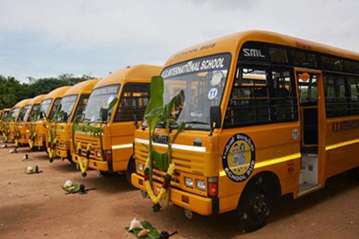 K G International School-Transportation
