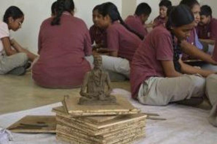 Kamala Niketan Montessori School-Art and Craft