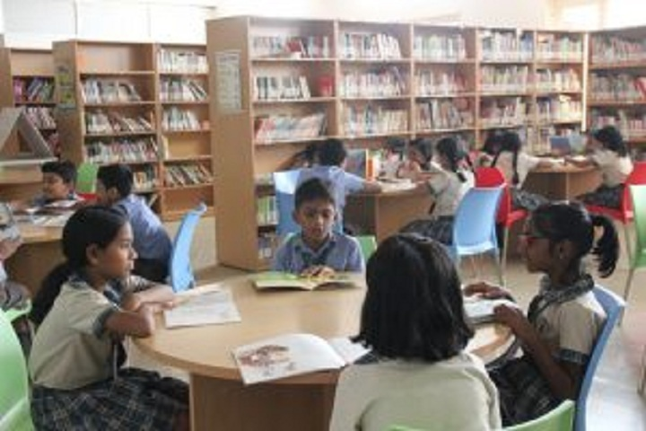 Kamala Niketan Montessori School-Library