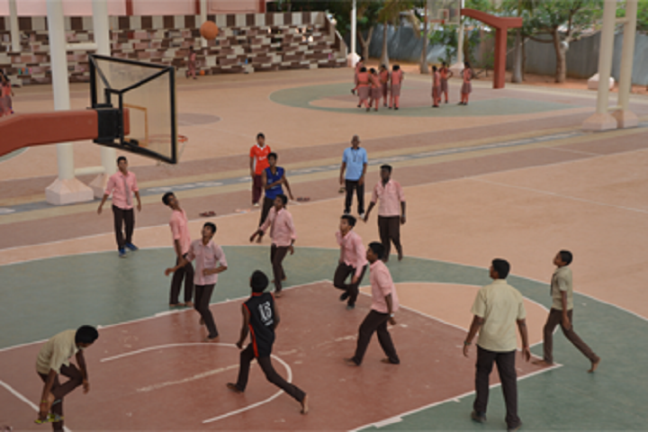 Kamala Subramaniam Secondary School-Football courts