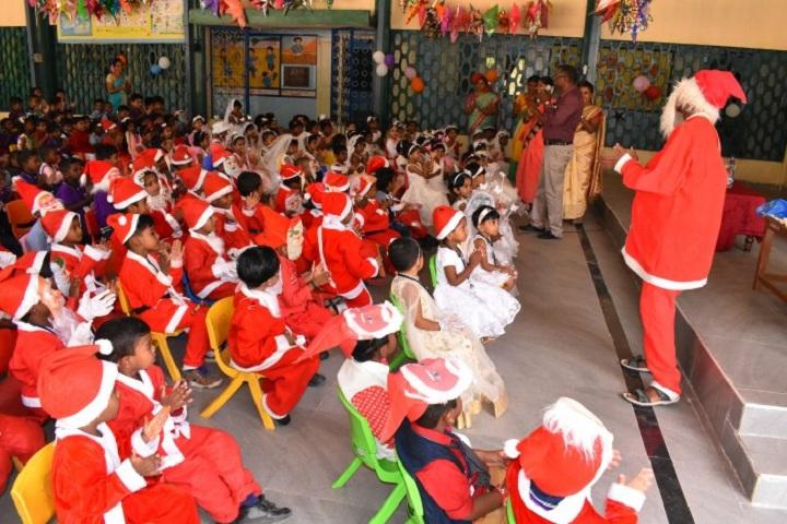 Kamalavathi Higher Secondary School-Christmas day Celebration 2018