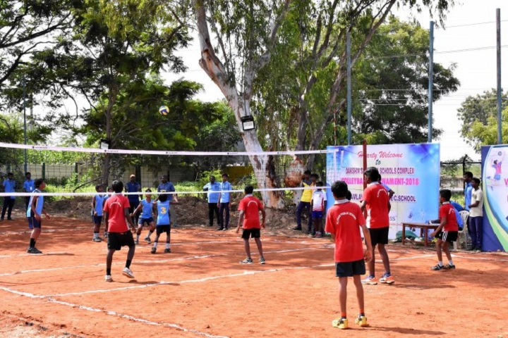 Kamalavathi Higher Secondary School-Dakshin Sahothaya School complex Interschool Volleyball Tournament