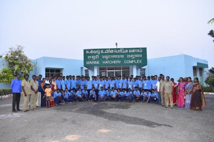 Kamalavathi Higher Secondary School-Field trip Rameshwaram