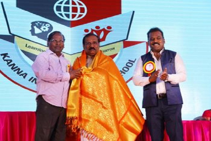 Kanna International School-Felicitation
