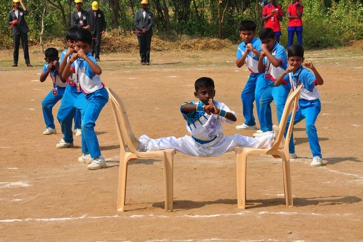 Kanna International School-Karate Activity