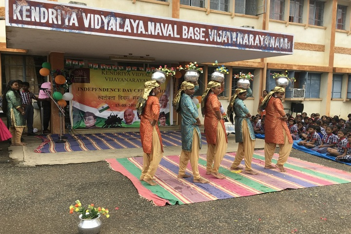 Kendriya Vidyalaya Vijayanarayanam-Independence day