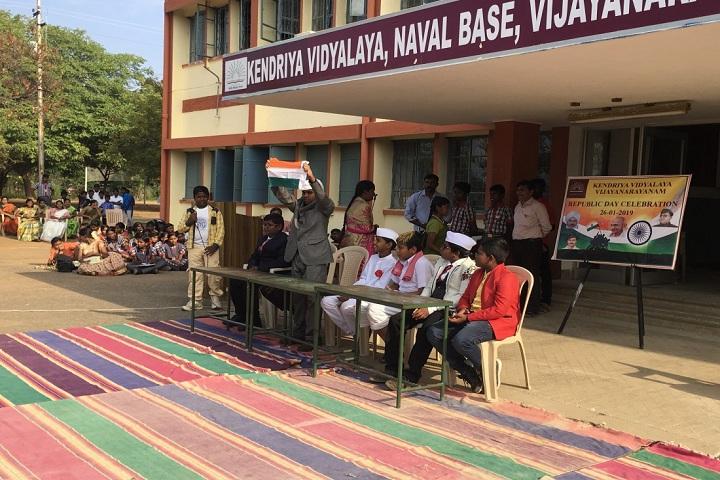 Kendriya Vidyalaya Vijayanarayanam-Republic day
