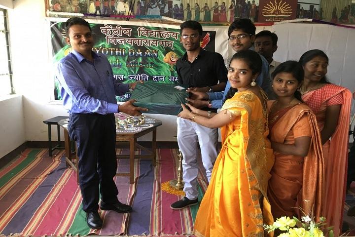 Kendriya Vidyalaya Vijayanarayanam-farewell