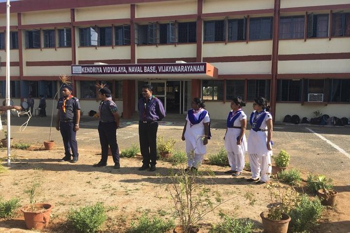 Kendriya Vidyalaya Vijayanarayanam-scouts