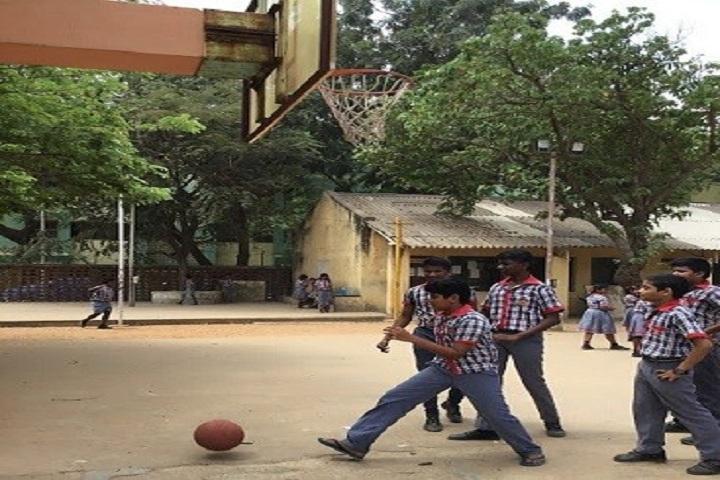 Kendriya Vidyalaya Annanagar-basketball