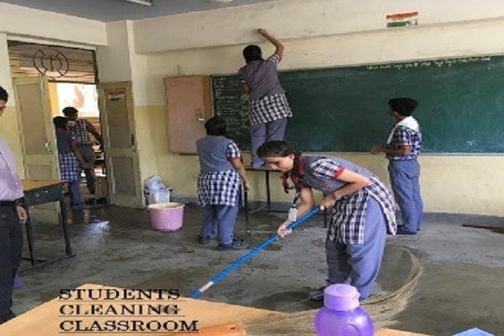 Kendriya Vidyalaya Annanagar-cleaning