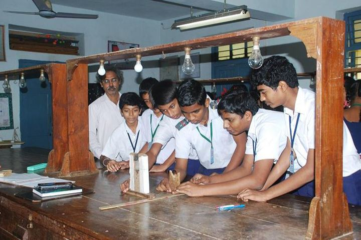 BHPV Senior Secondary School-Physics Lab