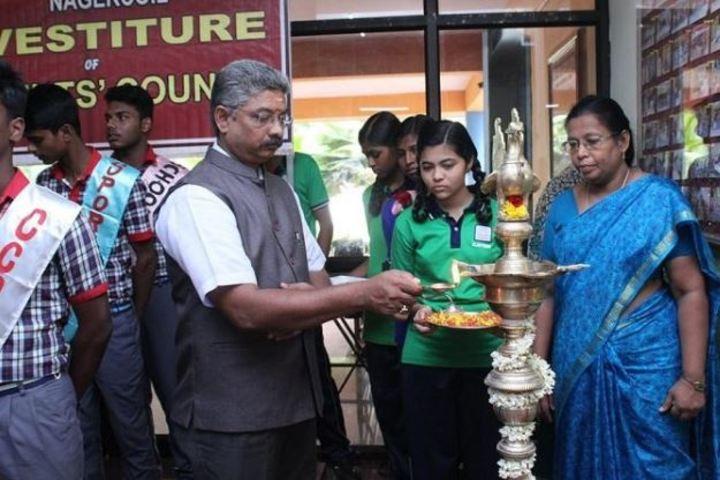 Kendriya Vidyalaya-Lamping Light