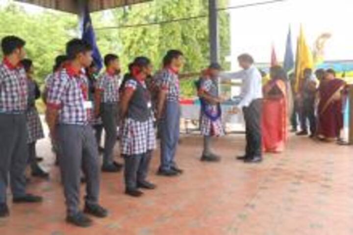Kendriya Vidyalaya No 2-Investiture Ceremony