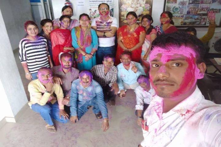 Oxford Senior Secondary School-Holi Celebrations