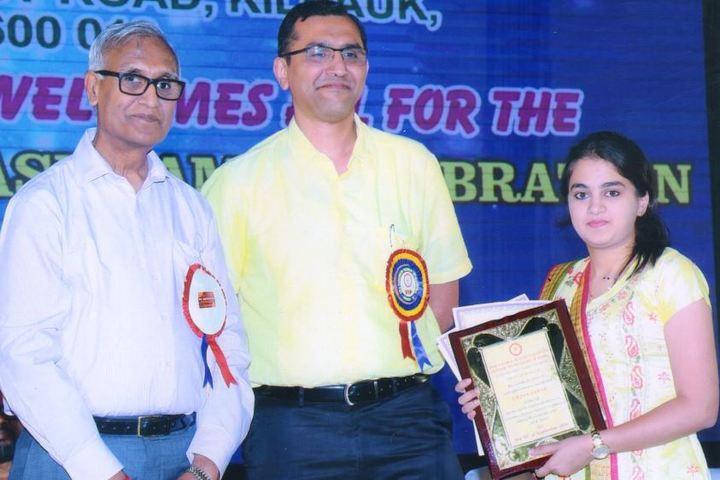 Kola Sarswathi School-Award