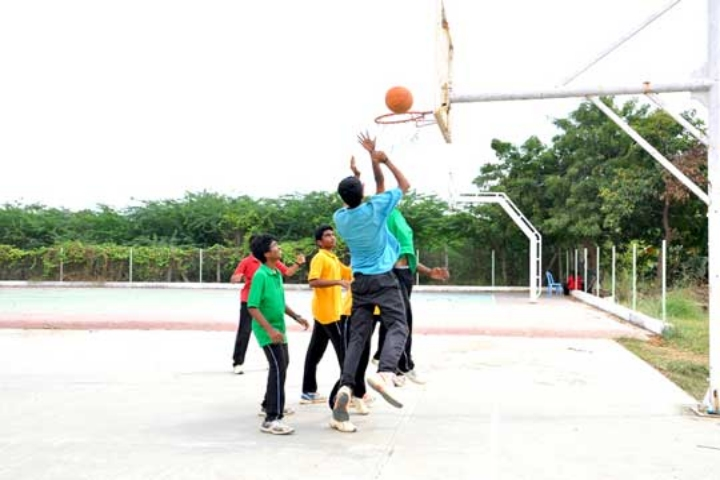 Lalaji Memorial Omega International School-Basket Ball