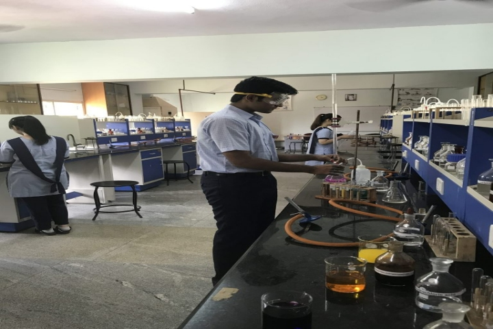 Lalaji Memorial Omega International School-Chemistry Lab