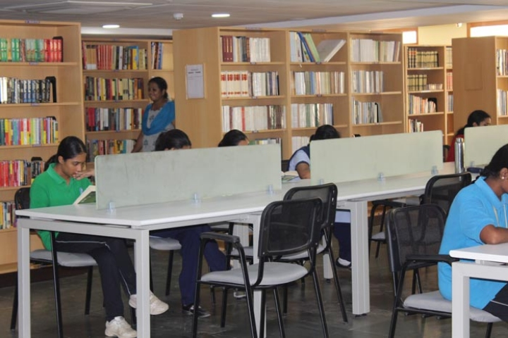 Lalaji Memorial Omega International School-Library