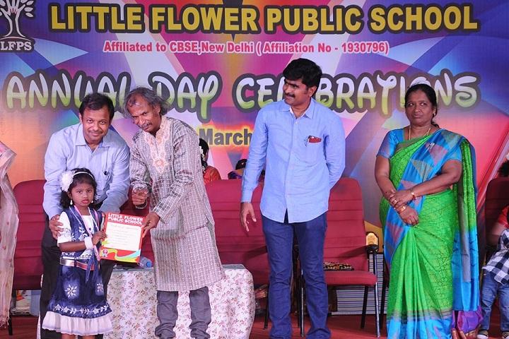 Little Flower Public School - Certificate Issue