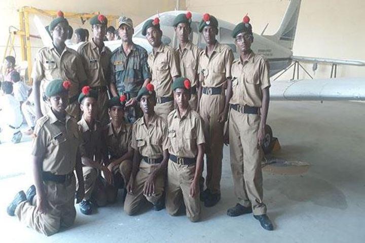 Maharishi School Of Excellence-NCC Students