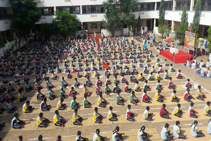 Sree Gokulam Public School- Yoga Day