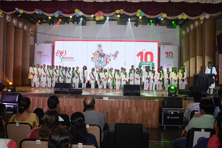 Mahindra World School-Event