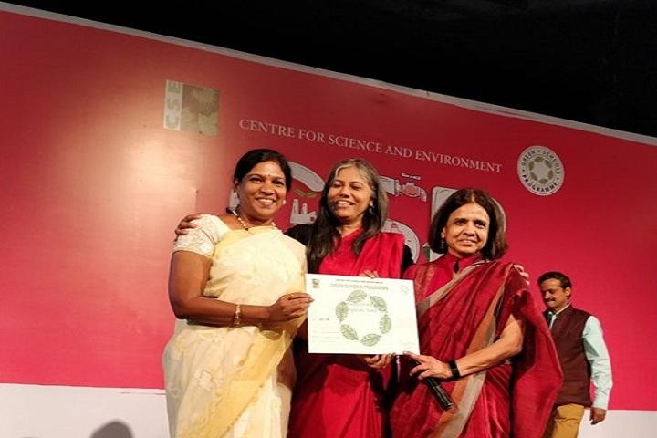 Mahindra World School-Green School Award