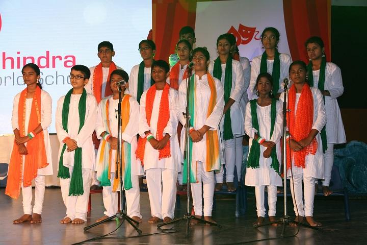Mahindra World School-Singing