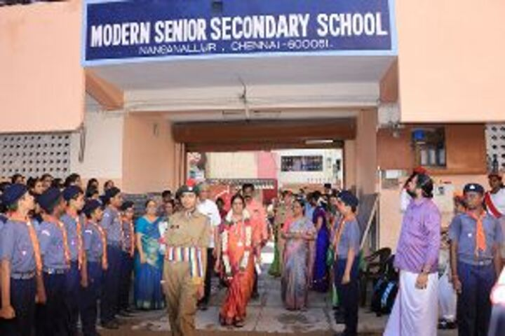 Modern Senior Secondary School-Event