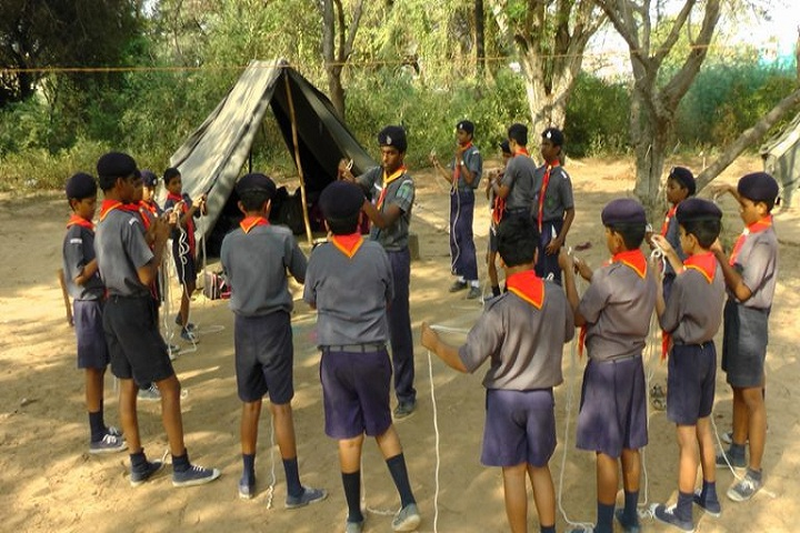 Modern Senior Secondary School-Scouts
