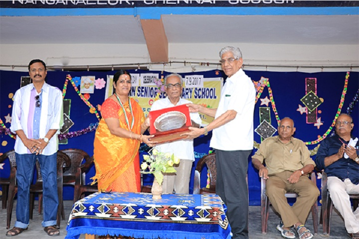 Modern Senior Secondary School-Award Presentation