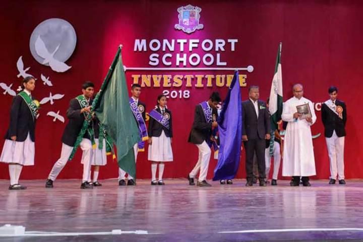 Montfort School-Investiture Ceremony