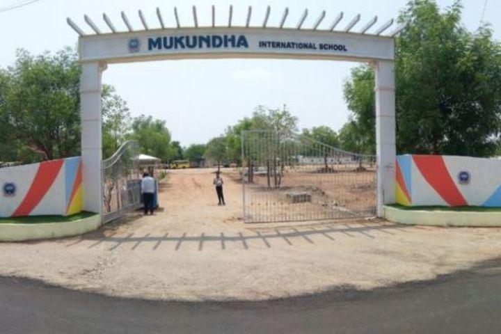 Mukundha International School-School Entrance