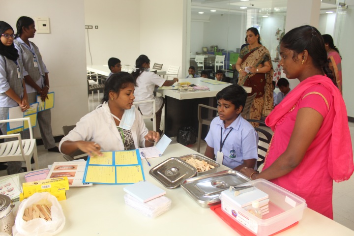 Muthamil Public School-Dental Checkup