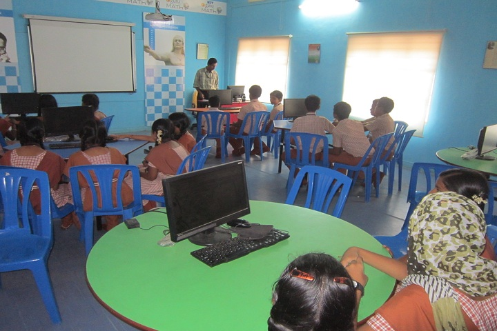 N V K S Higher Secondary School-Computer Lab